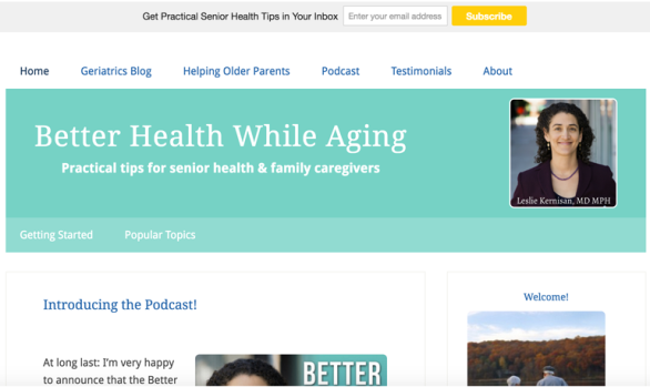 Better Health While Aging