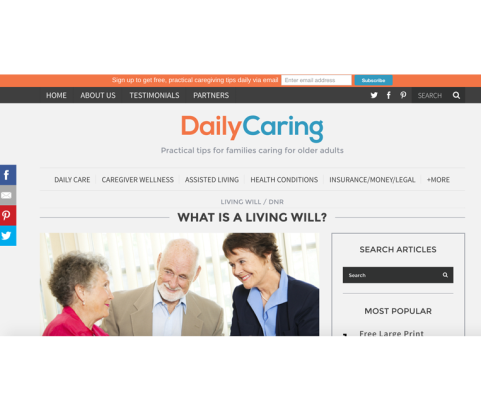 Daily Caring